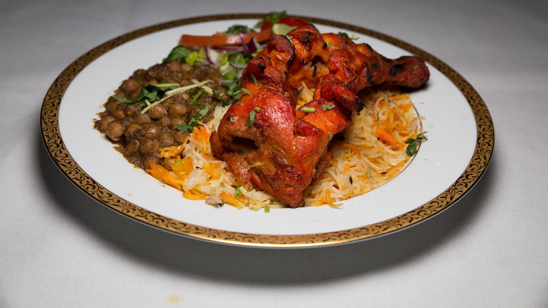 Tandoori Chicken Meal